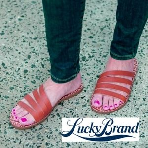 Stylish Lucky Brand Slide Sandals